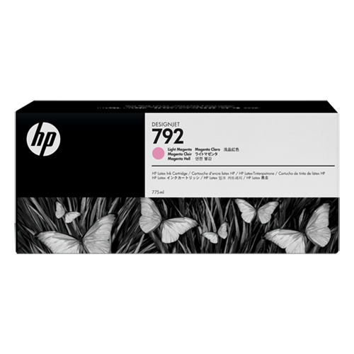 Картридж HP № 792 Designjet, Light Magenta, 775 мл, CN710A
